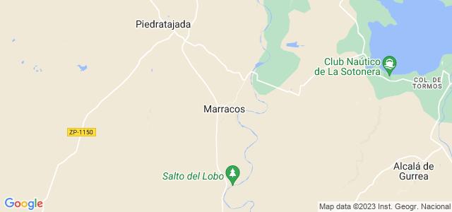 Mapa de Marracos