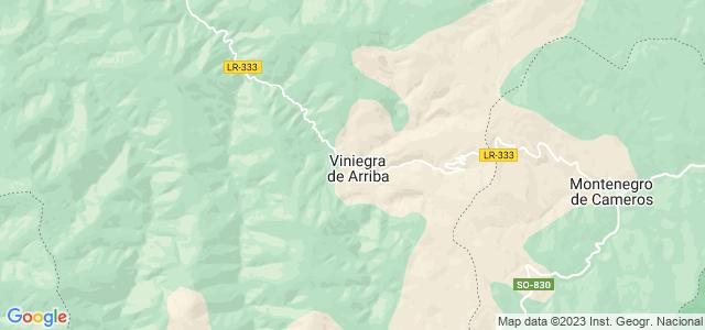 Mapa de Viniegra de Arriba