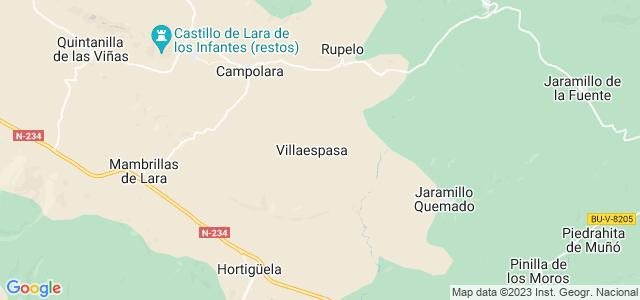 Mapa de Villaespasa