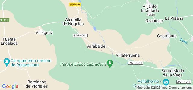 Mapa de Arrabalde