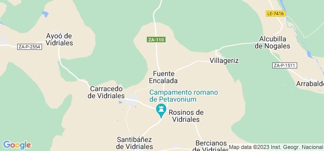 Mapa de Fuente Encalada