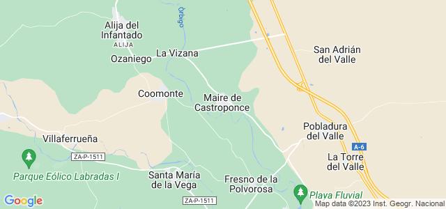 Mapa de Maire de Castroponce