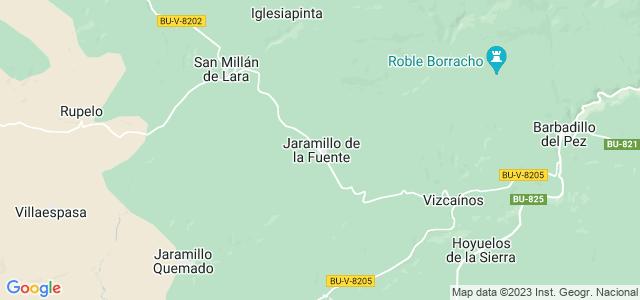 Mapa de Jaramillo de la Fuente