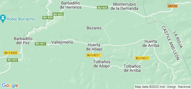 Mapa de Valle de Valdelaguna