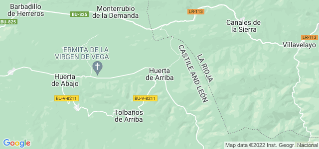 Mapa de Huerta de Arriba