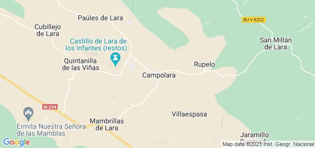 Mapa de Campolara
