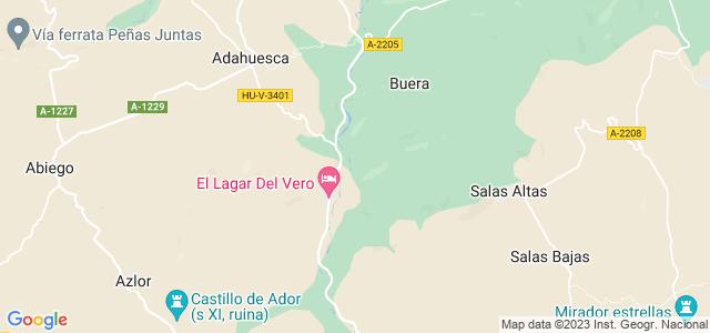 Mapa de Santa María de Dulcis