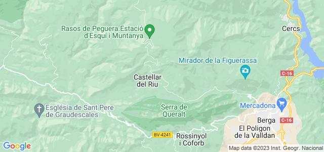 Mapa de Castellar del Riu