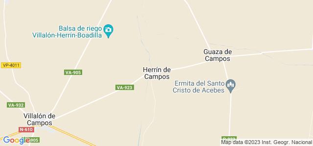 Mapa de Herrín de Campos
