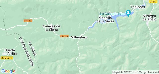 Mapa de Villavelayo