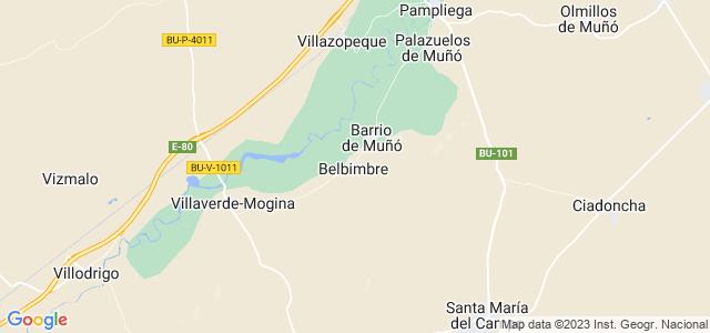 Mapa de Belbimbre
