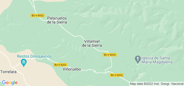 Mapa de Villamiel de la Sierra