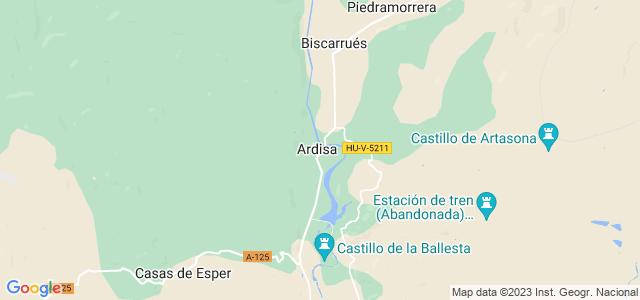 Mapa de Ardisa