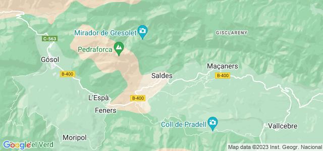 Mapa de Saldes