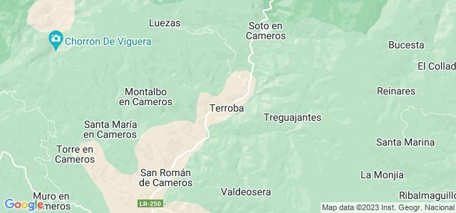Mapa de Terroba