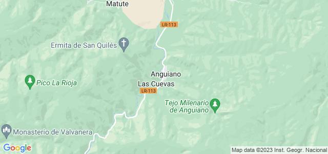 Mapa de Anguiano