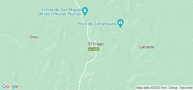 Mapa de Frago