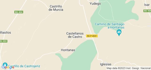 Mapa de Castellanos de Castro