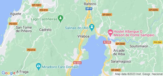 Mapa de Vilaboa