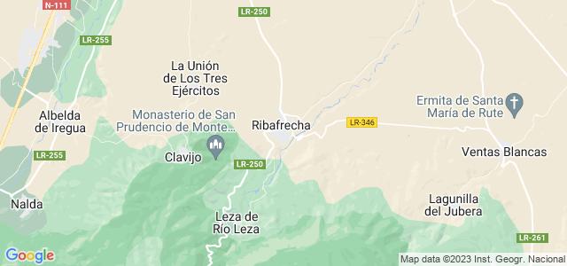 Mapa de Ribafrecha