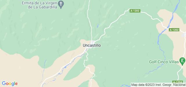 Mapa de Uncastillo
