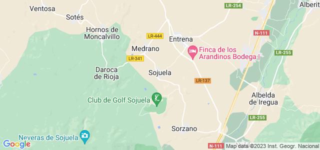 Mapa de Sojuela