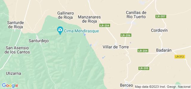 Mapa de Villarejo
