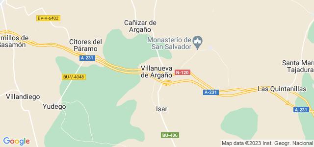 Mapa de Villanueva de Argaño
