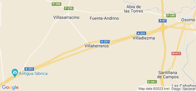 Mapa de Villaherreros