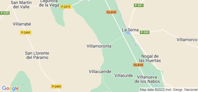 Mapa de Villamoronta