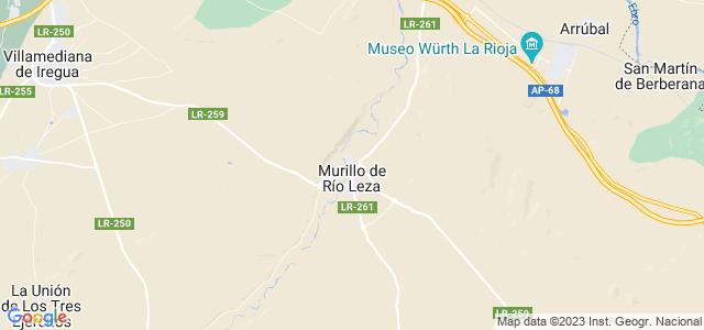 Mapa de Murillo de Río Leza