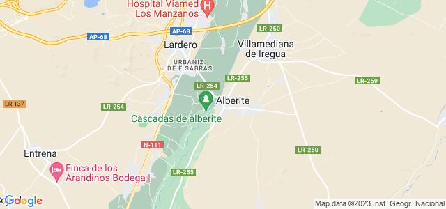 Mapa de Alberite