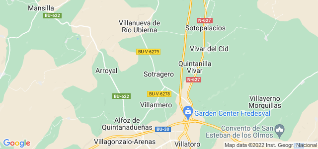 Mapa de Sotragero