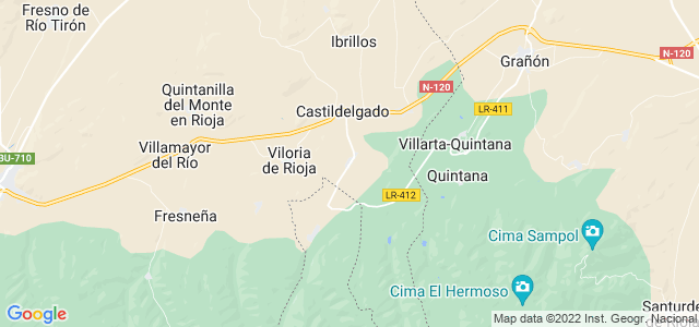 Mapa de Bascuñana