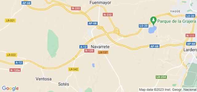 Mapa de Navarrete