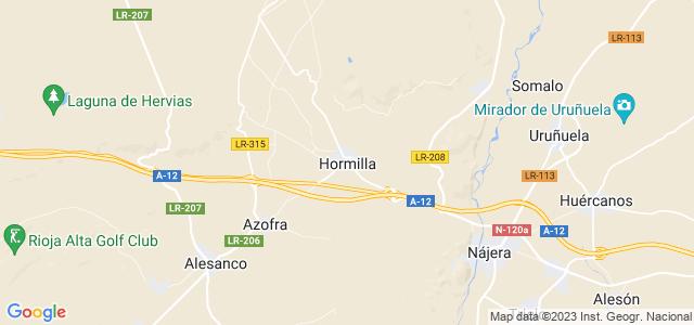Mapa de Hormilla