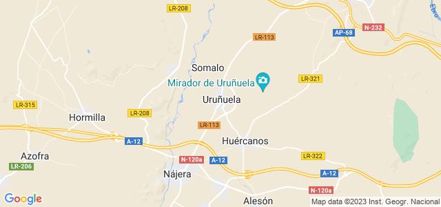 Mapa de Uruñuela