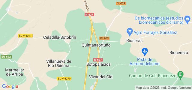 Mapa de Quintanaortuño