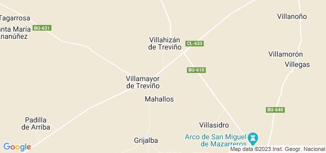 Mapa de Sordillos
