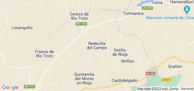 Mapa de Redecilla del Campo