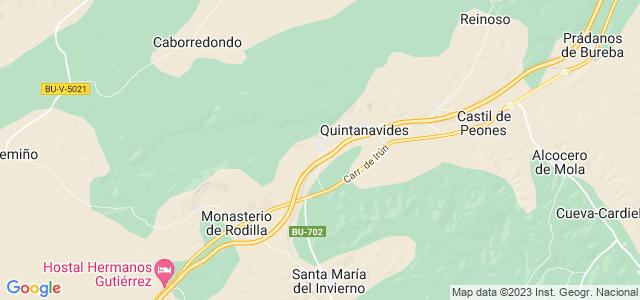 Mapa de Santa Olalla de Bureba