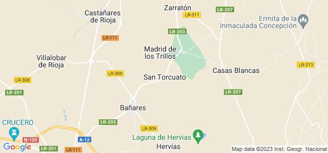 Mapa de San Torcuato