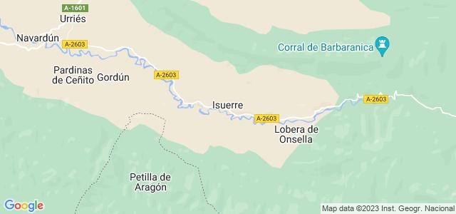 Mapa de Isuerre