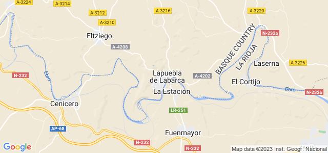 Mapa de Lapuebla de Labarca