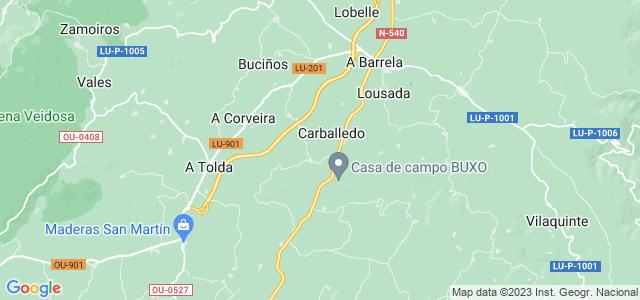 Mapa de Carballedo