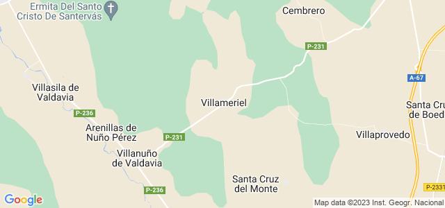 Mapa de Villameriel