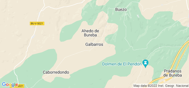 Mapa de Galbarros