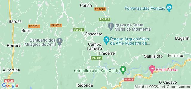 Mapa de Campo Lameiro