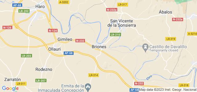 Mapa de Briones