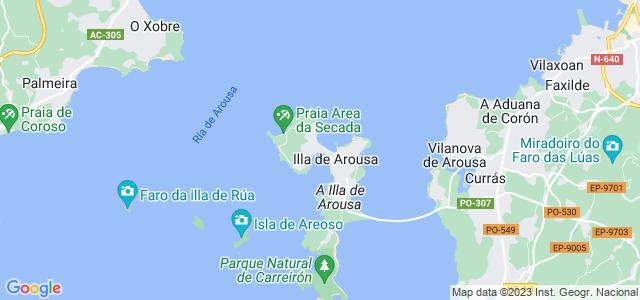 Mapa de Illa de Arousa